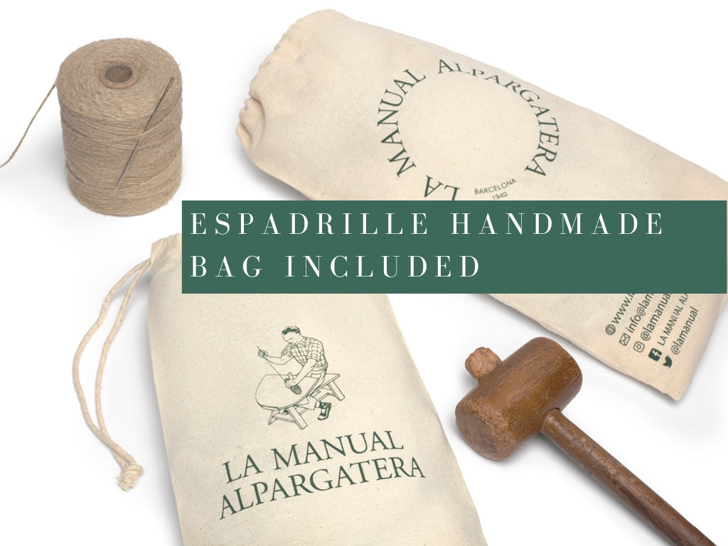 Handmade Bag for Espadrilles | La Manual Alpargatera