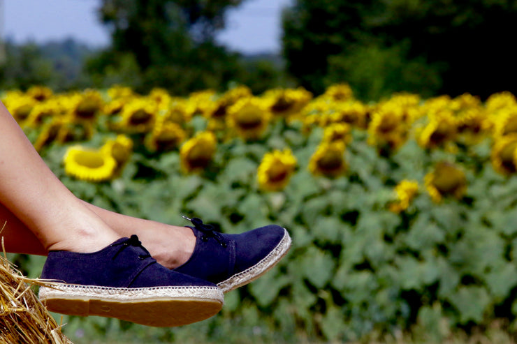 Hadmade Espadrille for Women in Black | Nacho | La Manual Alpargatera