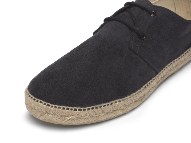 Blucher Espadrille in Black for Women and Men | Nacho | La Manual Alpargatera