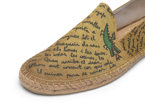 Espadrille for Men made in Spain | Texto | La Manual Alpargatera