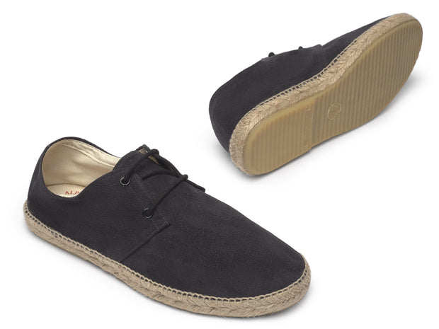 Vegan Espadrille in Black for Women and Men | Nacho | La Manual Alpargatera