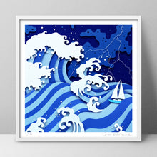 Load image into Gallery viewer, 'Cast Away' - Signed Print