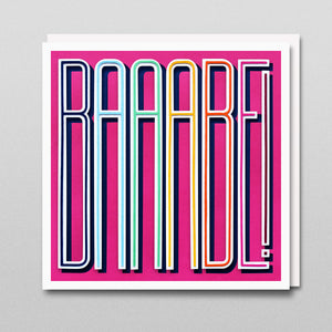 'Baaabe' - A Dozen Greetings Card