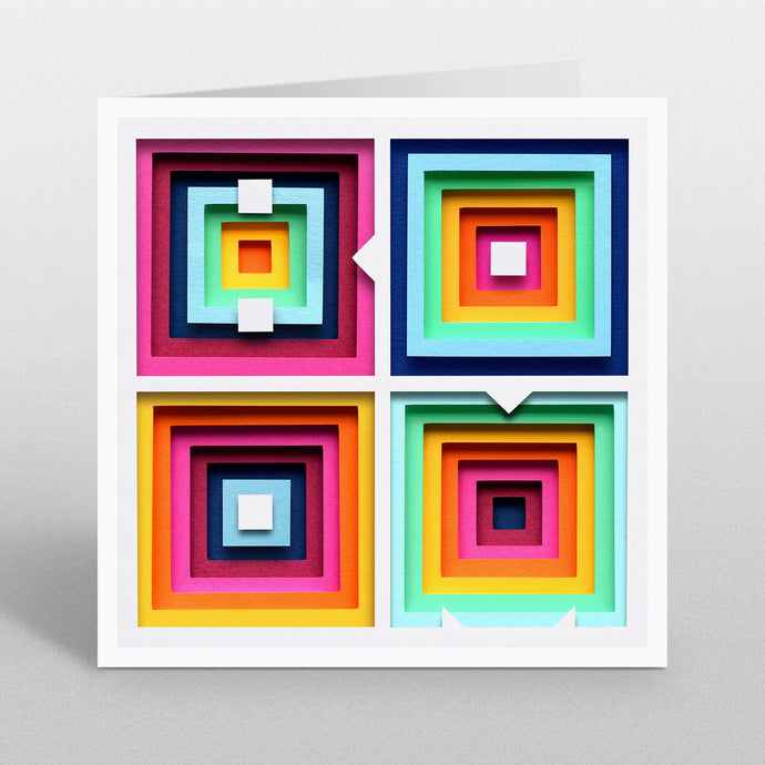 'BOOM' - A Dozen Greetings Card