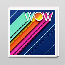 Load image into Gallery viewer, 'Wow' - A Dozen Greetings Card