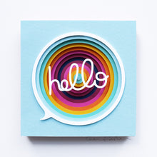 Load image into Gallery viewer, 'Hello' Framed Original Artwork