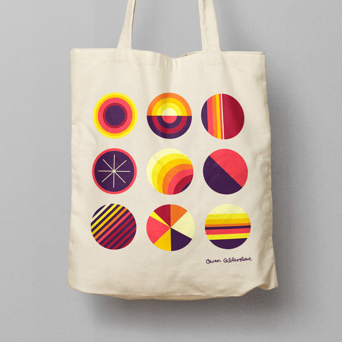'SOL' - Screenprinted 'Earth Aware' Tote Bag