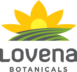 Lovena Botanicals Mobile Logo