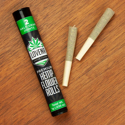 Hemp Flower Rolls - 2 Pack