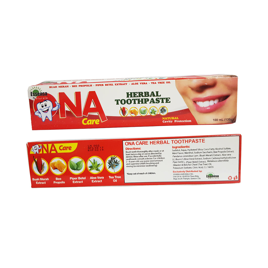 ona care toothpaste