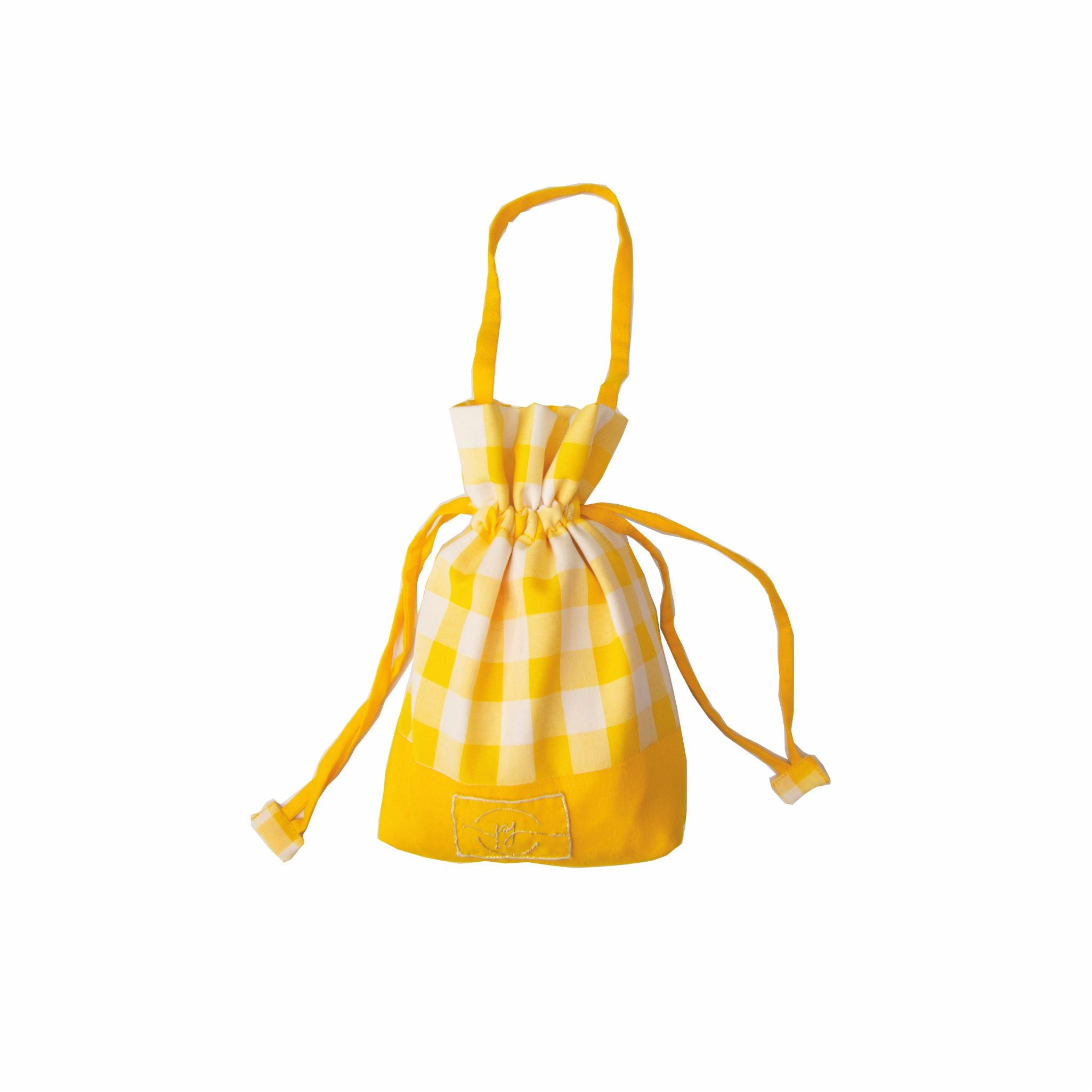yellow cotton safety potli