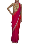 Ombre Dyed Saree