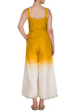 yellow ombre jumpsuit