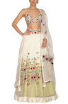 Ivory Mix and Match Embroidered Lehenga Set 2