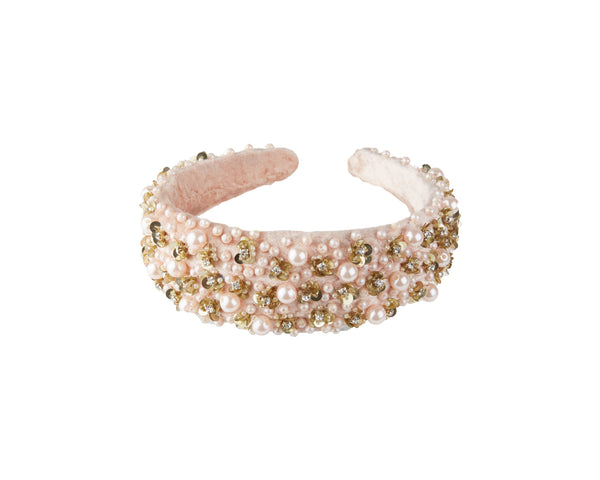 blush pink hairband