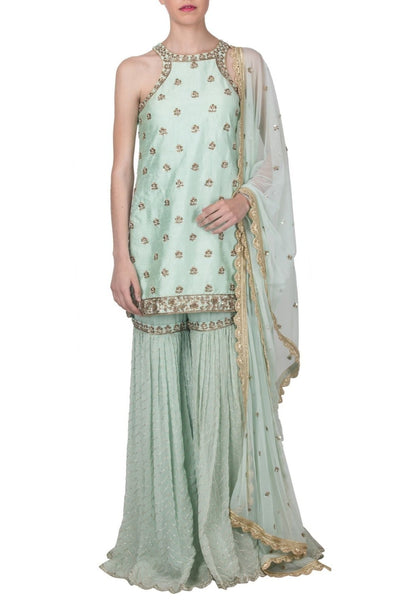 designer sharara set