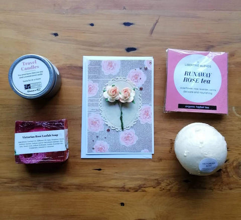 Relaxing Rose Gift Box