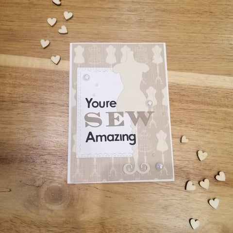 You're sew amazing