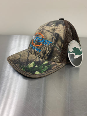 LeanFeast Camo Baseball Cap (Brown) Mossy Oak
