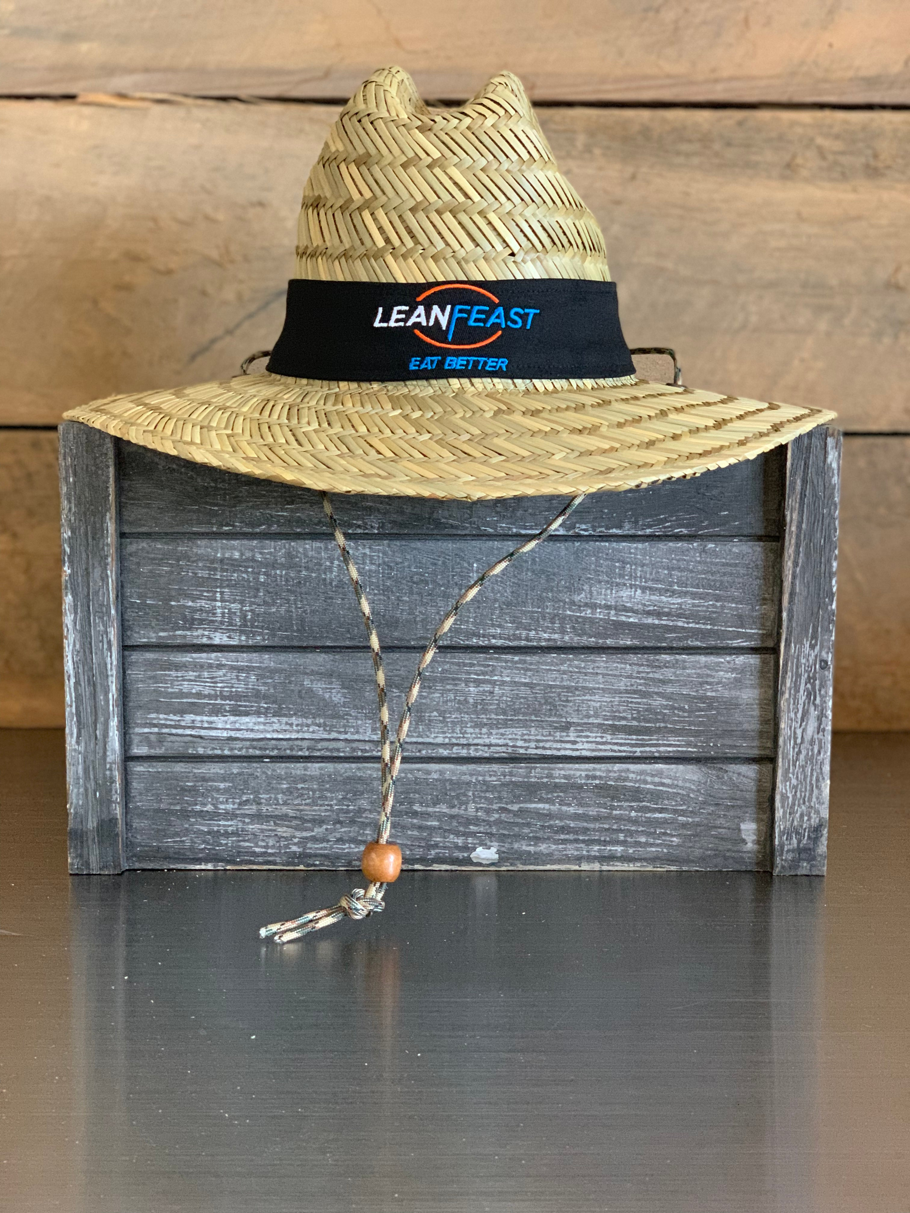 LeanFeast Straw Hat