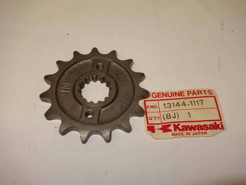 13144-1117 SPROCKET OUTPUT 15T #530 ZX500 ZX600 ZX750 ZX900