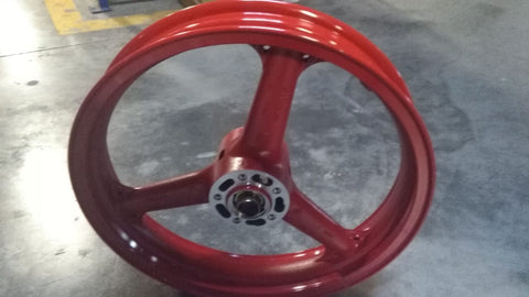 41073-1389-X4  WHEEL-ASSY FR RED KR250B