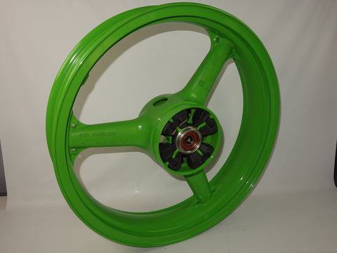 41073-1419-CJ WHEEL-ASSY REAR L.GREEN KR250B