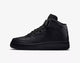 Stylish Kennit High Ankle Premium Black Casual Shoes