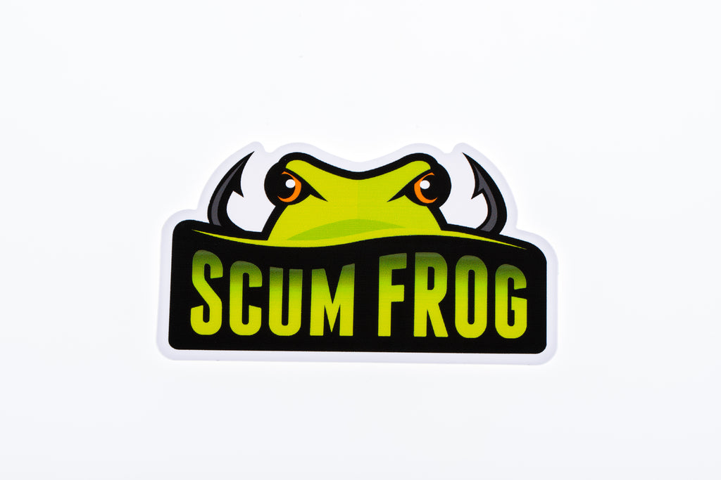 Scum Frog Decal