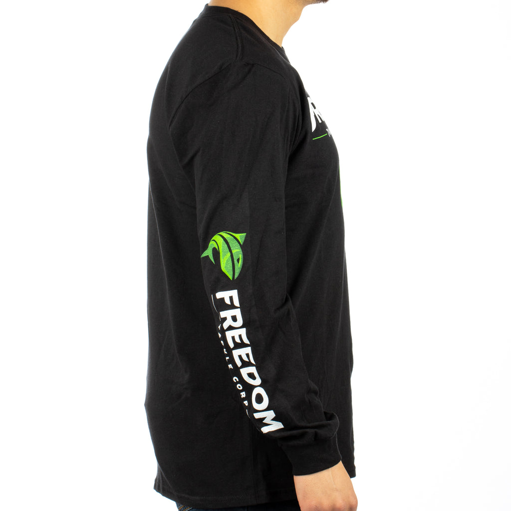 Freedom Tackle Corp. LS Shirt - Black