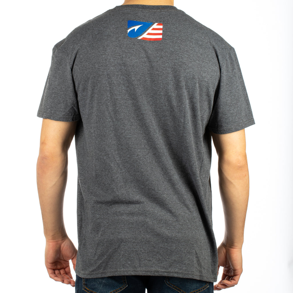 Freedom Tackle Corp. SS Tee - Grey