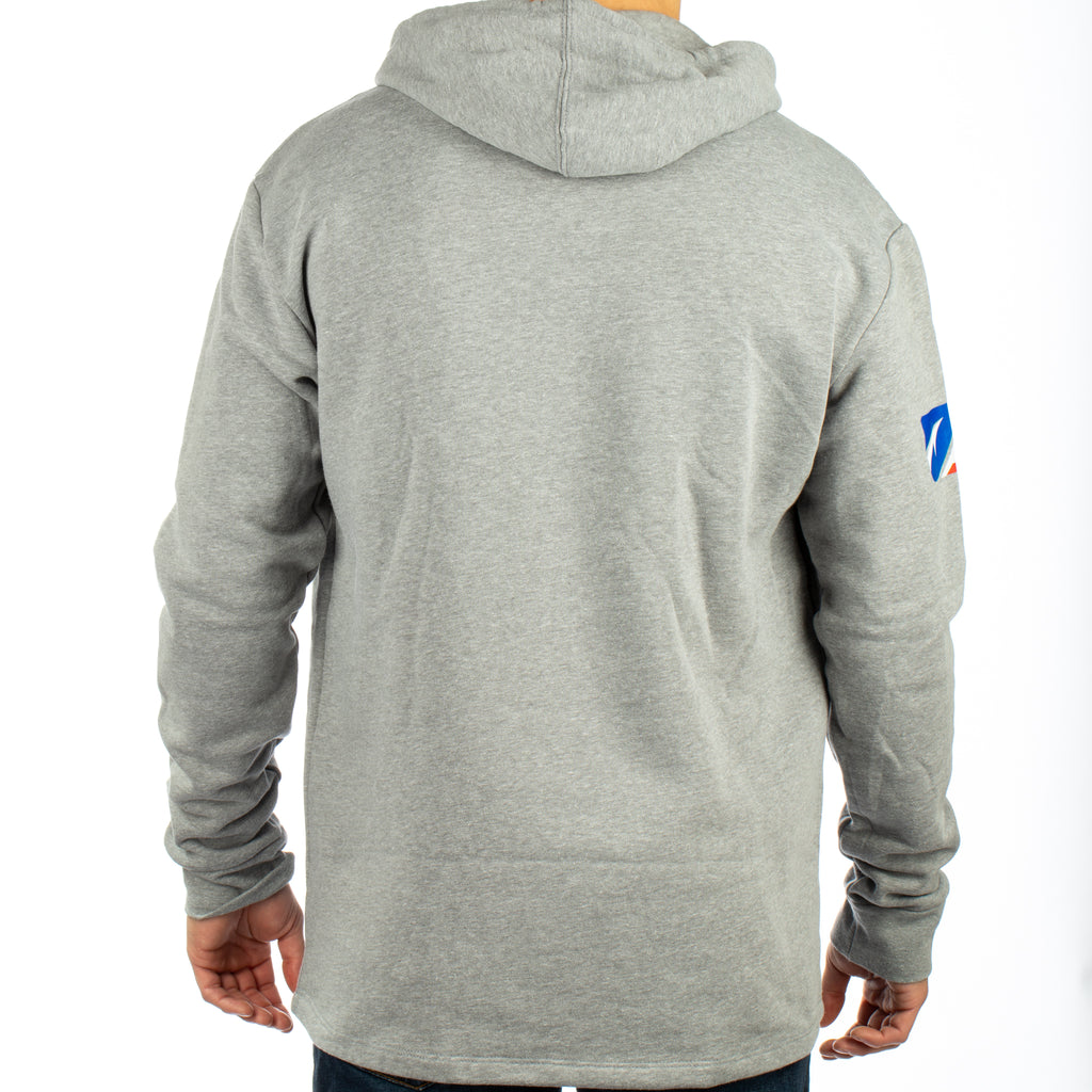 Halo Fishing Hoodie - Grey