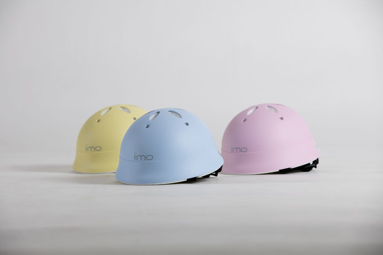iimo x Macaron Helmet (Made in Japan)
