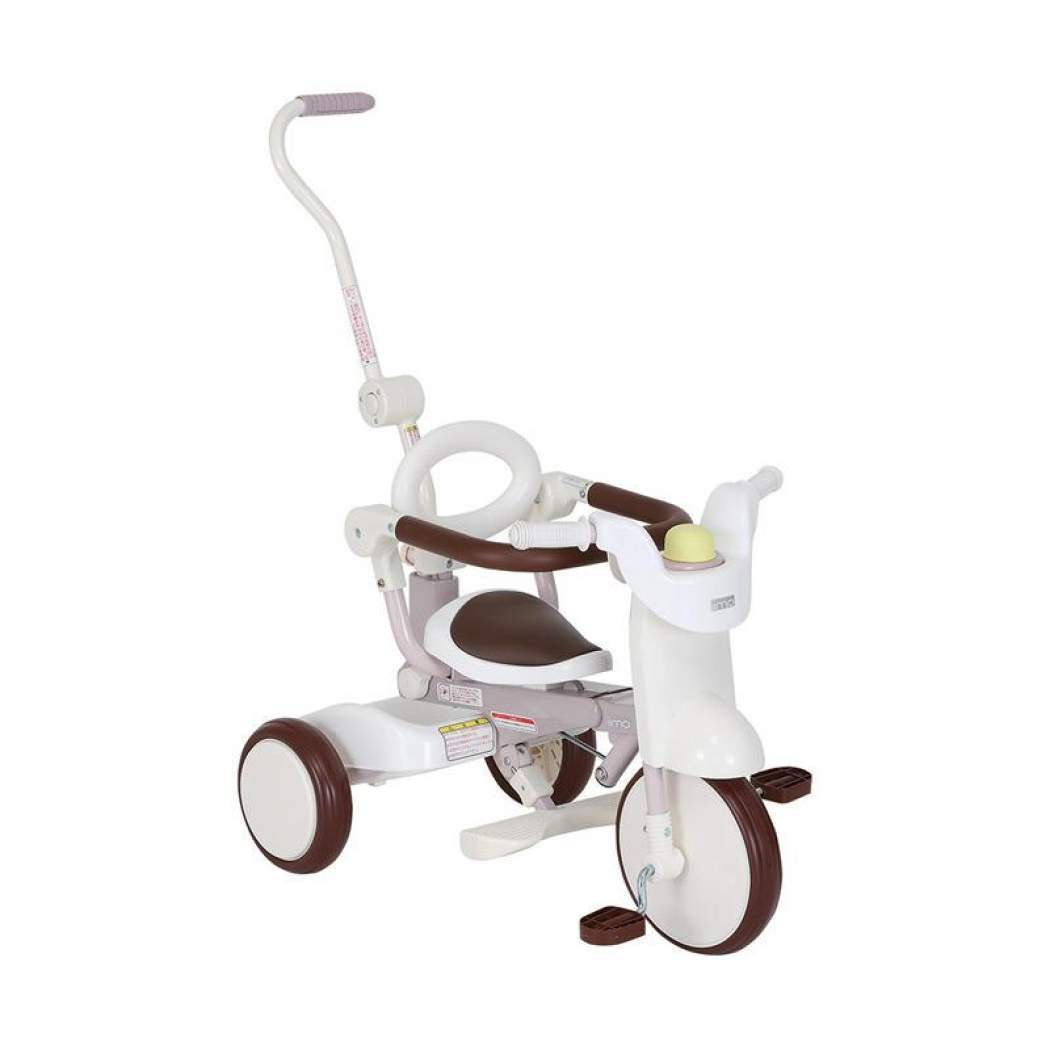 iimo ss tricycle #02 with canopy foldable white