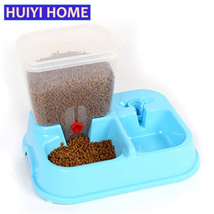 Automatic Pet Feeder Drinking Fountains Dog