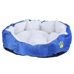 Dog Beds Warm Fleece Lounger Sofa