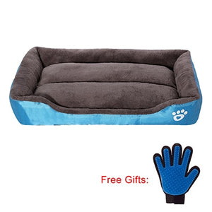 Pet Bed Warming Dog House free groom gloves