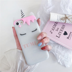 Luxury 3D  unicorn Phone Case