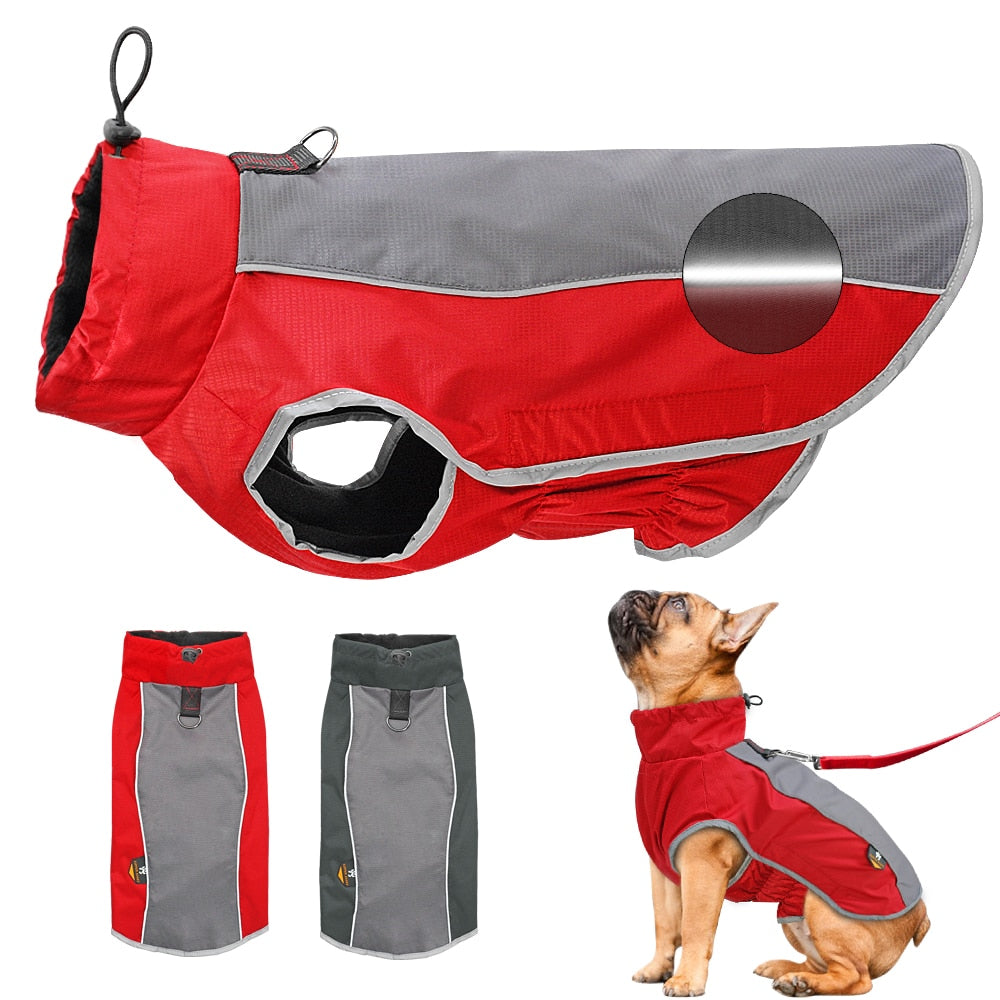 Dog Clothes Reflective Waterproof