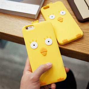 3D Cartoon Soft Silicone Phone Case