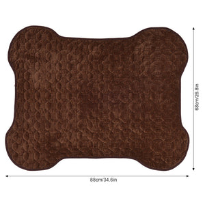 Anti-slip Dirty Dog Doormat Blanket