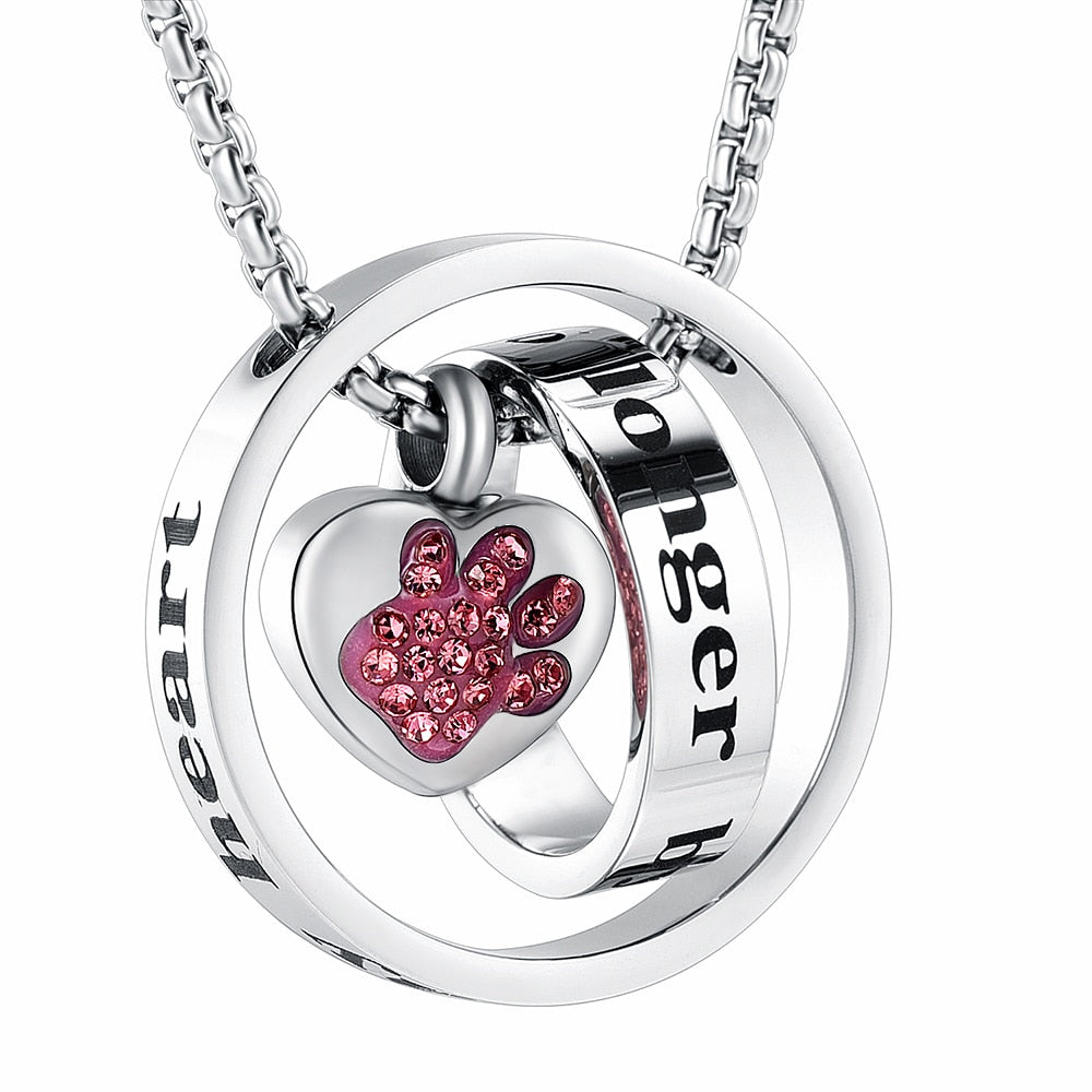Paw Necklace Stainless steel