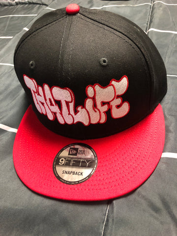 That Life Snap Back Red/Black