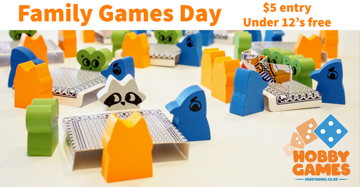 Hobby Games Family Game Day - March 8th 2020