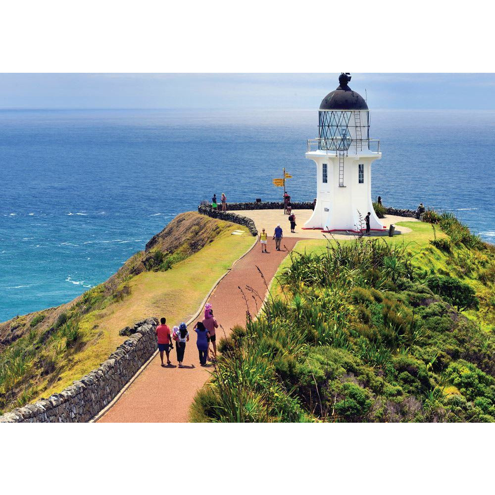 "Explore New Zealand: Cape Reinga, Northland - 100 pieces, Puzzle, Brand_Holdson, Category_Puzzle, Collection_Explore New Zealand, Pieces_100, Theme_Landmarks, ""board games"", ""Hobby Games"", Hobby Games"