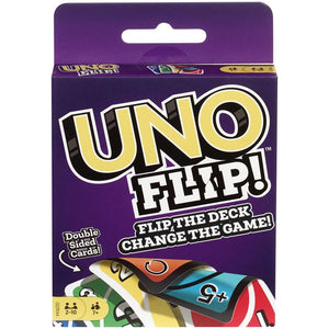 "Uno Flip, Card Game, Age_10+, Age_6+, Age_7+, Age_8+, Age_9+, Age_Adult, Age_Teen, Category_Family, Mechanic_Hand Management, Mechanic_Take That, ""board games"", ""Hobby Games"""