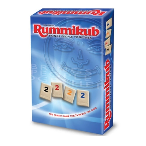 "Rummikub - Travel, Board Game, Age_8-10 years, Category_Abstract, Category_Family, Ephraim Hertzano, Mechanic_Set Collection, Rummikub, ""board games"", ""Hobby Games"", Hobby Games"