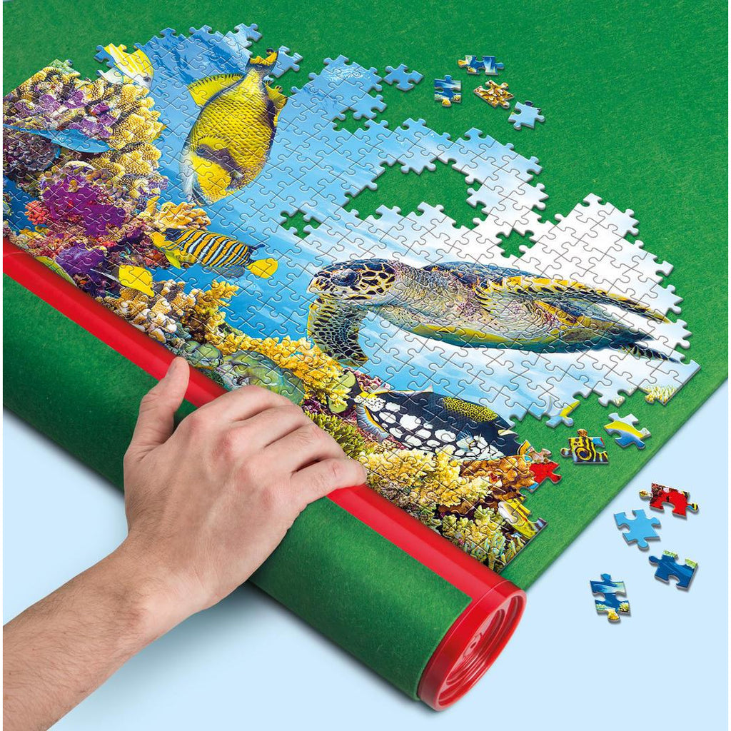 "Puzzle Mat, up to 2000 pieces - Clementoni, Accessories, Brand_Clementoni, Category_Puzzle Accessory, ""board games"", ""Hobby Games"", Hobby Games"