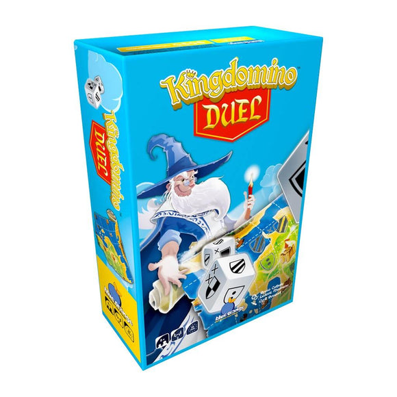 "Kingdomino Duel, Board Game, Age_10+, Age_8+, Age_9+, Age_Adult, Age_Teen, Blue Orange, Bruno Cathala, Category_2 Player, Category_Family, Ludovic Maublanc, Mechanic_Dice Rolling, Mechanic_Roll and Write, ""board games"", ""Hobby Games"""