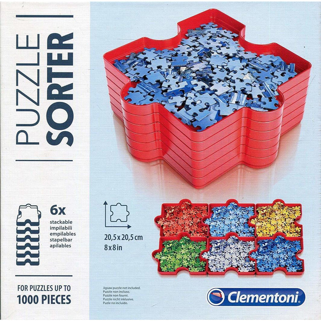 "Puzzle Sorter - Clementoni, Accessories, Brand_Clementoni, Category_Puzzle Accessory, ""board games"", ""Hobby Games"", Hobby Games"